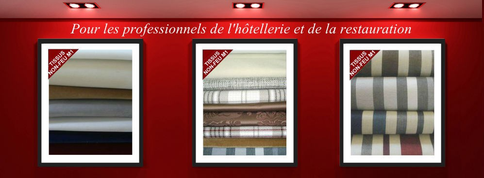 L'Atelier d'Eve: Sale of non-fire fabrics for professionals