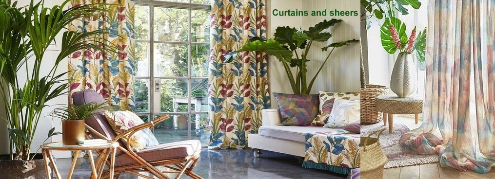 Custom Made in France curtains